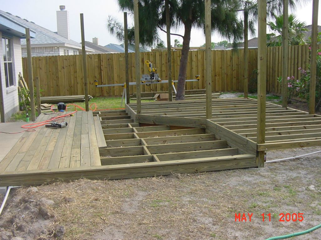 DECK LAYOUT, STRUCTURE, FRAMING
